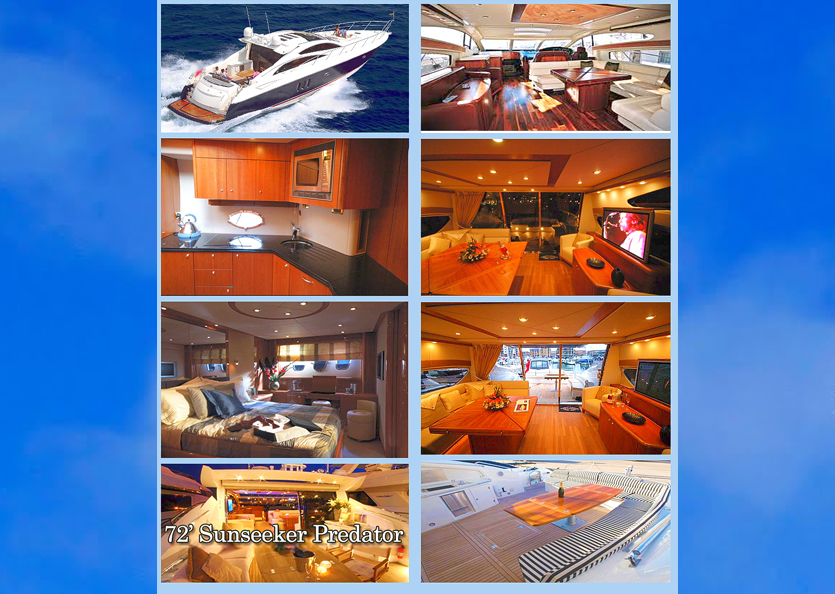 72' Sunseeker Predator Luxury Yachts Cayman